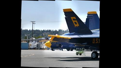 Blue Angel 6 and Fat Albert at Seafair in Seattle 2012