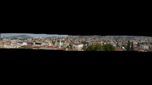 Sarajevo from minaret II.