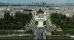 Trocadero, from the second floor of the Eiffel Tower, Paris, France