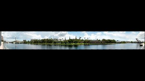 Hillsborough River, Downtown Tampa, Florida