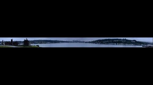 Gasworks Park Panorama - Seattle Washington