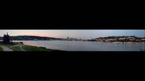 Lake Union Seattle, Washington - from Gasworks Park