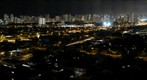 Honolulu night skyline from 9th Avenue in Kaimuki