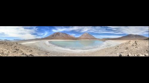 Laguna verde, Uyuni, Bolivia