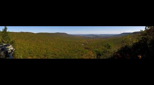 View from Hawk Mountain South Overlook
