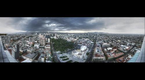 La Ciudad de México desde el mirador de la Torre Latinoamericana