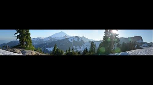 Mt. Baker Washington State, from Artist Point.