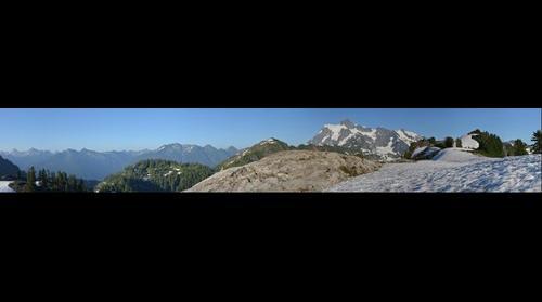 Mount Shuksan North Cascades Washington - from Artist Point