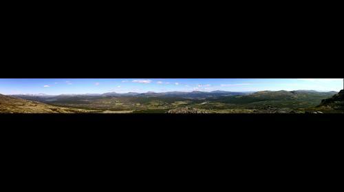 Utsikt fra Hardbakken