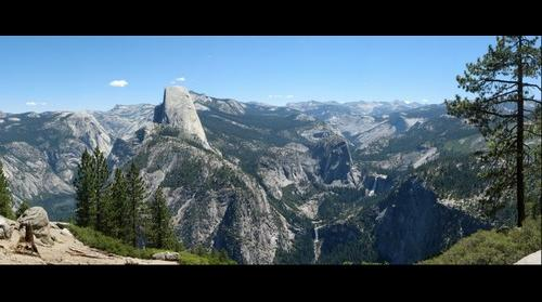 Yosemite National Park view from Washburn Point