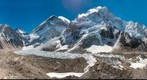 Everest Base Camp, Khumbu Icefall, and Nuptse