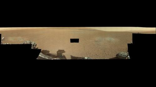 SOL 3 - MSL Curiosity in Gale Crater