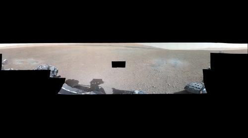 SOL 3 - Curiosity at Gale Crater (White balanced)