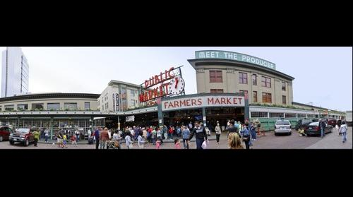 Pike Place Market, Seattle WA USA