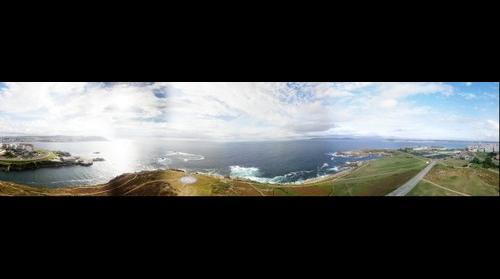 A Coruña desde la Torre de Hércules