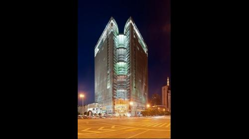China Guangxi Nanning CBD night