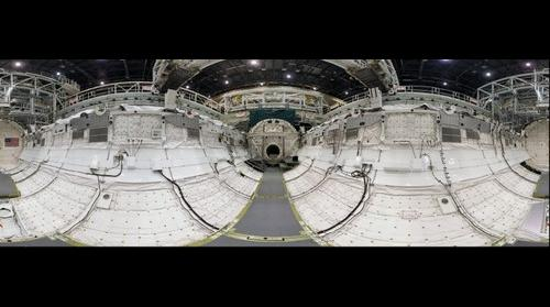 Space Shuttle Endeavour Payload Bay