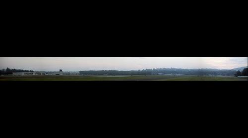 Early morning at the Danbury CT airport (KDXR)