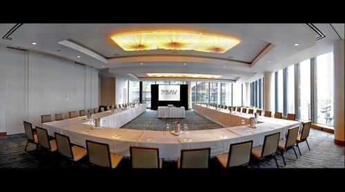 Emerald Room PSAV Setup Pacific Rim Hotel