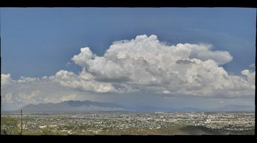 Storm Brewing over Catalina Mountains, Tucson