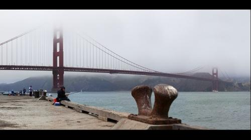 Foggy day in San Francisco