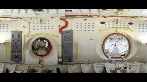 Space Shuttle Endeavour Airlock