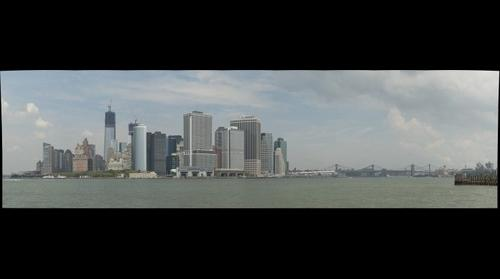 NYC Skyline from Governors Island - 25AUG12