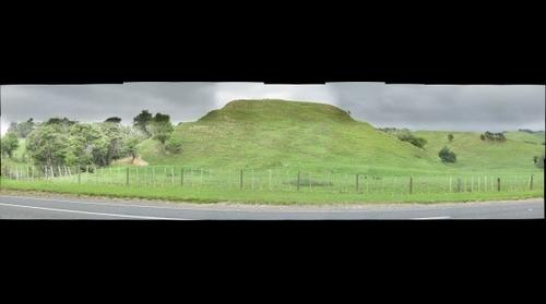 Old Maori pa site at Orere