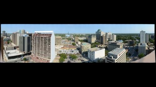Winnipeg gigapan from 120 Donald - Broadview Manor