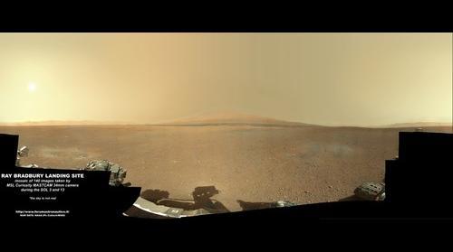 Mars Science Laboratory Panorama (final version)