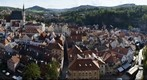 esk Krumlov panoramic view