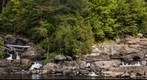 Wilson's Falls on the Muskoka River, Bracebridge, Ontario