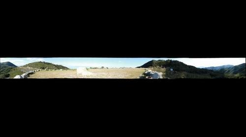 阳台山顶360度全景