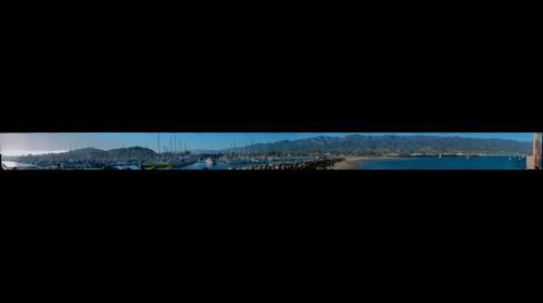 Santa Barbara Marina and Pier