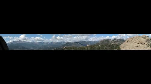 Above Estes Park