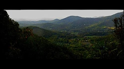 Blue Ridge Mountain Parkway outside Asheville