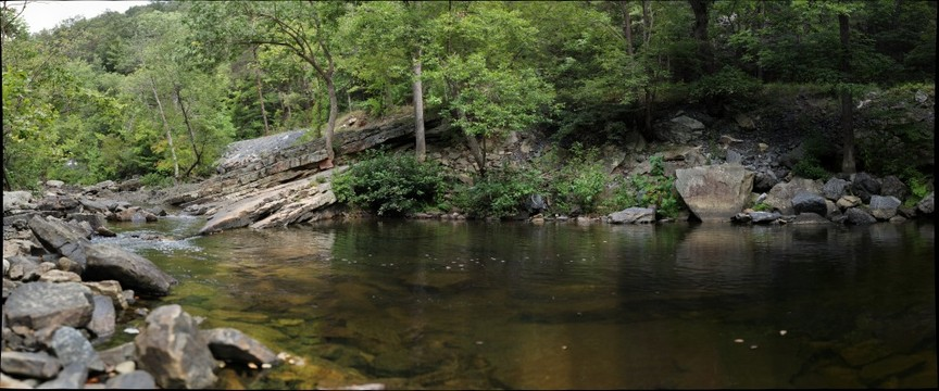 Red Hole, Passage Creek, George Washington National Forest, Virginia (#1 of 2)