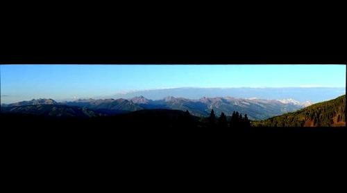 Aspen, CO - Aspen Mountain and Maroon Bells