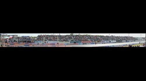 Santa Pod European Finals 2012 Grandstand