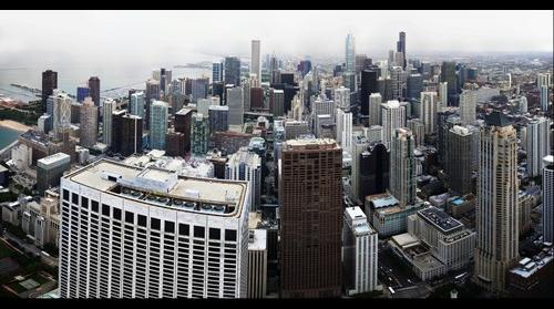 Chicago from the John Hancock Tower