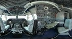 Cockpit of Shuttle Carrier Aircraft (SCA) 905