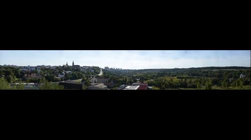 Panoramic view of Kladno east