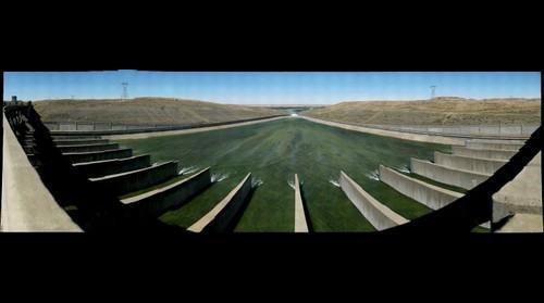 Fort Peck Lake Spillway