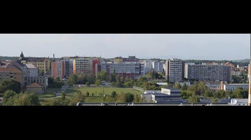 Panorama from Kladno-Sítná