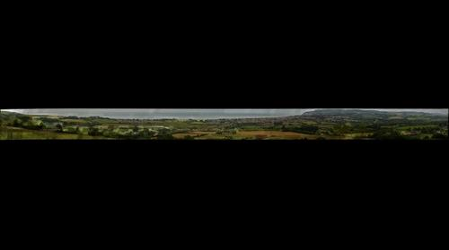 Sandown & Shanklin from Brading Downs
