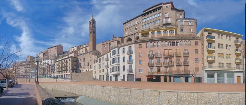 Antigüa Catedral de Tarazona y palacio Episcopal