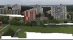 Panoramic view of Kladno with view of Prague