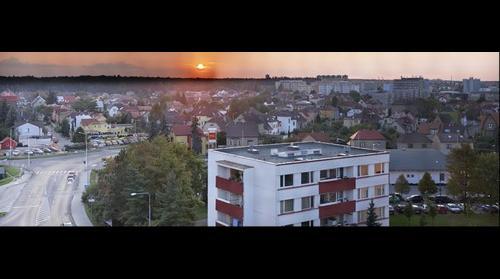Kladno centrum from Vodárenská
