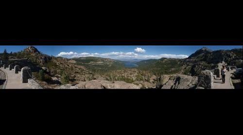 120811 Donner Lake from Donner Pass, Truckee, California