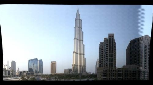Second Balcony Test Burj Khalifa